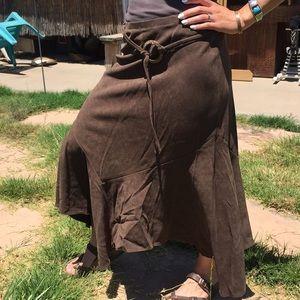 Larry Levine Skirts - Brown Skirt